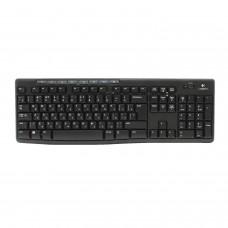 Набор беспроводной LOGITECH Wireless Combo MK270, клавиатура, мышь 2 кнопки + 1 колесо-кнопка, черный, 920-004518