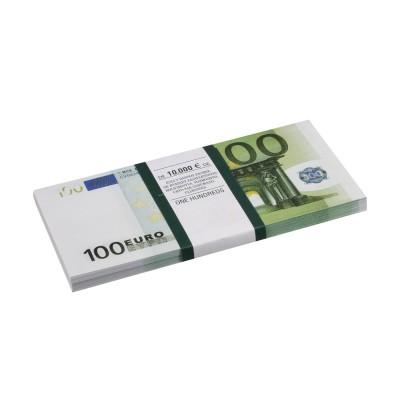 """Деньги шуточные """"100 евро"""", упаковка с европодвесом, AD0000044"""