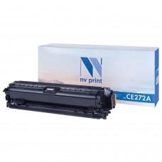 Картридж лазерный NV PRINT (NV-CE272A) для HP CP5525dn/CP5525n/M750dn/M750n, желтый, ресурс 15000 страниц