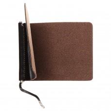 """Зажим для купюр BEFLER """"Classic"""", натуральная кожа, тиснение, 105х86 мм, коричневый, Z.7.-1"""