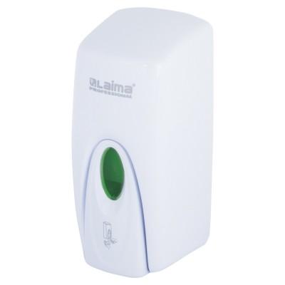 Диспенсер для жидкого мыла LAIMA PROFESSIONAL ORIGINAL, НАЛИВНОЙ,1 л, белый, ABS-пластик, 605782