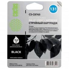 Картридж струйный CACTUS (CS-C8765) для HP Deskjet 460/5743/6543/6843, черный, 16 мл