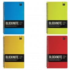 """Блокнот А5 (135х210 мм), 60 л., гребень, ламинированный картон, клетка, Альт, """"ACTIVE BOOK"""", (4 вида)., 3-60-482"""