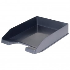 "Лоток горизонтальный для бумаг СТАММ ""Стандарт"", А4 (345х250х65 мм), черный, ЛТ22"