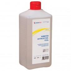Антисептик кожный дезинфицирующий спиртосодержащий (60%), 1 л, ХИМИТЕК АНТИСЕПТИК-ГЕЛЬ, нейтральное, под дозатор, 10305