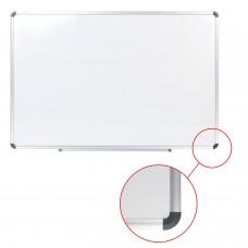 Доска магнитно-маркерная (60х90 см), алюминиевая рамка, ГАРАНТИЯ 10 ЛЕТ, STAFF, 235462
