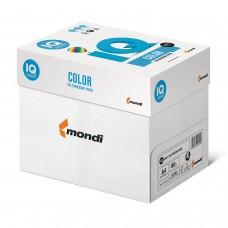Бумага цветная IQ color, А4, 80 г/м2, 500 л., интенсив, зеленая липа, LG46