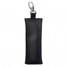"""Футляр для ключей BEFLER """"Грейд"""", натуральная кожа, на молнии, 135x55 мм, черный, KL.8.-9"""
