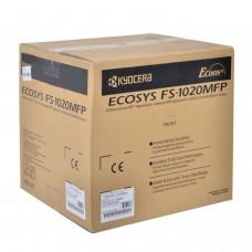 МФУ лазерное KYOCERA FS-1020MFP (принтер, сканер, копир), А4, 20 стр./мин., 20000 стр./мес. (без кабеля USB), 1102M43RUV