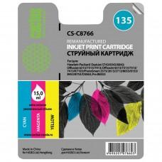 Картридж струйный CACTUS (CS-C8766) для HP Deskjet 460/5743/PSC3183/ D5063, цветной, 15 мл