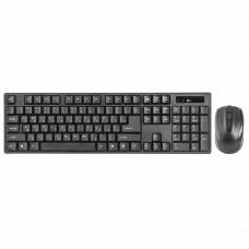 Набор беспроводной DEFENDER #1 C-915, USB, клавиатура, мышь 3 кнопки+1 колесо-кнопка, черный, 45915