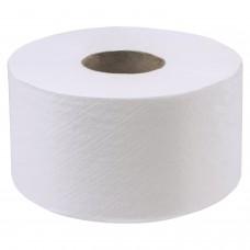 Бумага туалетная 200 м, LAIMA (Система Т2), ADVANCED, 1-слойная, цвет белый, КОМПЛЕКТ 12 рулонов, 126093