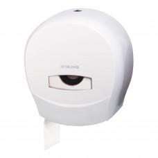 Диспенсер для туалетной бумаги ЛАЙМА PROFESSIONAL (Система T2), малый, белый, ABS-пластик, 601427