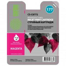 Картридж струйный CACTUS (CS-C8772) для HP Photosmart C7283/C8183, пурпурный, 11,4 мл