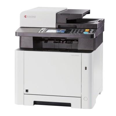 МФУ лазерное ЦВЕТНОЕ KYOCERA M5526cdn (принтер, сканер, копир, факс), A4, 26 стр./мин, 50000 стр./мес., АПД, ДУПЛЕКС, с/карта, 1102R83NL0