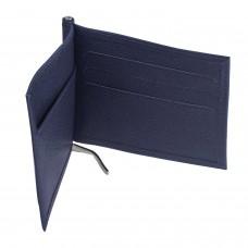 """Зажим для купюр BEFLER """"Грейд"""", натуральная кожа, тиснение, 120х86 мм, синий, Z.9.-9"""