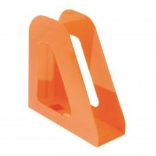 "Лоток вертикальный для бумаг СТАММ ""Фаворит"" (235х240 мм), ширина 90 мм, оранжевый, ЛТ721"
