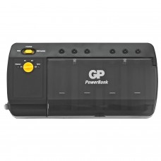 """Зарядное устройство GP PB320, для 4-х аккумуляторов AA, AAA, С, D или 2-х аккумуляторов """"Крона"""", PB320GS-2CR1"""