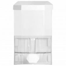 Диспенсер для жидкого мыла LAIMA PROFESSIONAL ORIGINAL, НАЛИВНОЙ, 1 л, прозрачный, пластик, 605773