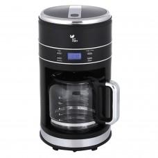 Кофеварка капельная KITFORT КТ-704-2, 1000 Вт, объем 1,5 л, подогрев, пластик, черный, KT-704-2