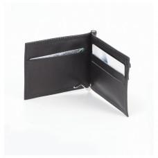 """Зажим для купюр BEFLER """"Грейд"""", натуральная кожа, тиснение, 120х86 мм, черный, Z.9.-9"""