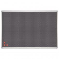 """Доска для информации фетровая с металлической сеткой, """"Pin mag"""", 45x60 см, OFFICE, """"2х3"""" (Польша), TPA456"""