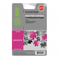 Картридж струйный CACTUS (CS-CLI471XLM) для CANON PIXMA MG5740/6840/7740, пурпурный, ресурс 2000 стр.