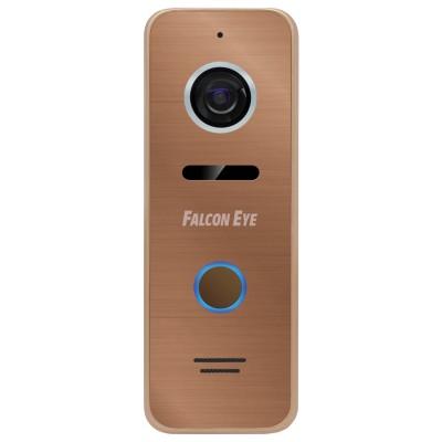 Видеопанель вызывная FALCON EYE FE-ipanel 3, разрешение 800 ТВл, угол обзора 110°, питание DC 12 В, бронза, 00-00109240