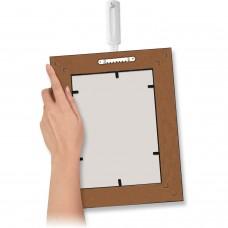 Крючок самоклеящийся COMMAND для рамок с твердыми петлями, легкоудаляемый, белый, до 2 кг, 17040
