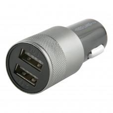 Зарядное устройство автомобильное RED LINE C20, 2 порта USB, выходной ток 2,1 А, черное, УТ000010219