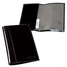 """Обложка для паспорта BEFLER """"Classic"""", натуральная кожа, тиснение """"Passport"""", черная, O.21.-1"""