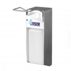 Диспенсер для жидкого мыла BXG, НАЛИВНОЙ, с локтевым приводом, алюминий, 1 л, ESD-1000