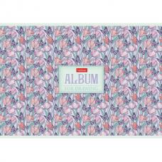 Альбом для рисования А4 32 л., скоба, матовая ламинация, HATBER, 205х290 мм, 'Аромат грез', 32А4лтВ