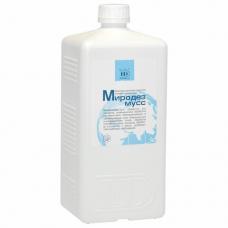 Антисептик для рук бесспиртовой 1л МИРОДЕЗ МУСС, дезинфицирующий, жидкость