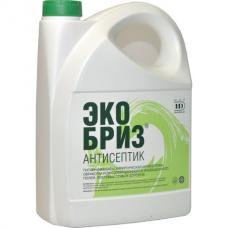 Антисептик для рук и поверхностей спиртосодержащий (60%) 5л ЭКОБРИЗ, дезинфицирующий, жидкость