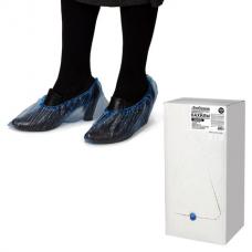 Бахилы КОМПЛЕКТ 2000 шт. (1000 пар) в упаковке, ЭКОНОМ, размер 39х13 см, 20 мкм, 2 г, ПНД, ЛЮБАША, 630717