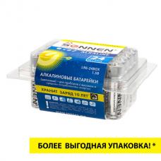 Батарейки КОМПЛЕКТ 24 шт., SONNEN Alkaline, АА(LR6, 15А), алкалиновые, пальчиковые, короб, 455095