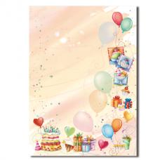 Бумага дизайнерская 'ВЕЧЕРИНКА' А4, 90 г/м2, 20 листов, DECADRY, TSC6770