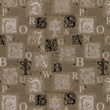 Бумага упаковочная крафт 70х100 см ЗОЛОТАЯ СКАЗКА 'Kraft Casual', 5 дизайнов, 80 г/м2, 591597