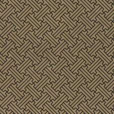 Бумага упаковочная крафт 70х100 см ЗОЛОТАЯ СКАЗКА 'Kraft Geometric', 5 дизайнов, 80 г/м2, 591598