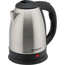 Чайник SCARLETT SC-EK21S74, 2 л, 1800 Вт, закрытый нагревательный элемент, сталь