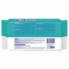 Дезинфицирующие салфетки спиртовые 100 штук SMART MEDICAL, крышка-клапан, 72029