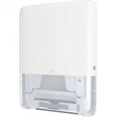 Диспенсер для полотенец TORK (Система H5) PeakServe, mini (вмещает 1230 полотенец), белый, 552550