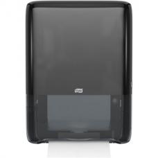 Диспенсер для полотенец TORK (Система H5) PeakServe, mini (вмещает 1230 полотенец), черный, 552558