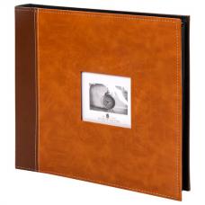 Фотоальбом BRAUBERG 'Camel' на 500 фото 10х15 см, под гладкую кожу, коричневый, 391178