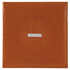 Фотоальбом BRAUBERG 'Omega' на 500 фото 10х15 см, под гладкую кожу, коричневый, 391181