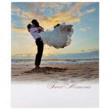 Фотоальбом BRAUBERG 'Влюбленные у моря' на 304 фото 10х15см, твердая обложка, термосклейка, 391156