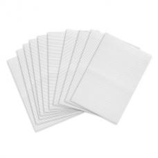 Картон белый А4 ГОФРИРОВАННЫЙ, 10 листов, 180 г/м2, ОСТРОВ СОКРОВИЩ, 210х297 мм, 111946