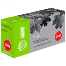 Картридж лазерный CACTUS (CS-C052) для Canon MF421/426/428/429/LBP 212/214/215, ресурс 3100 страниц