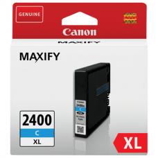 Картридж струйный CANON (PGI-2400XLС) iB4040/MB5040/MB5340, голубой, оригинальный, ресурс 1500 стр., 9274B001